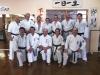 Seido Dunedin members: shodan/nidan grading, Timaru, June 2013
