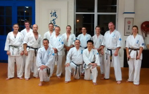 Post Thursday sparring class - April 2014